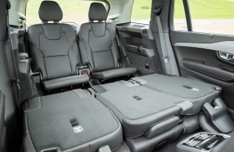 Volvo XC90, seats folded