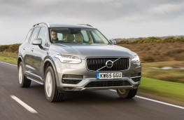 Volvo XC90 T8 Twin Engine, front action
