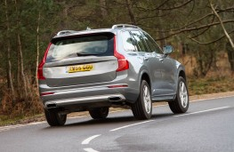 Volvo XC90 T8 Twin Engine, rear action