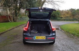 Volvo XC40 Recharge T5 Inscription, boot