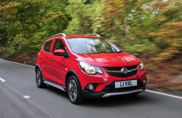 Vauxhall Viva Rocks, 2017, front, action