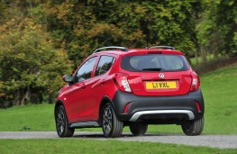 Vauxhall Viva Rocks, 2017, rear