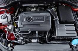 Skoda Octavia vRS 245 Estate, 2018, engine