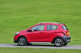 Vauxhall Viva Rocks, 2017, side, action