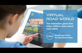 Virtual Road World app