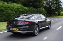 Volkswagen Arteon, rear action