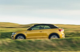 Volkswagen T-Roc Cabriolet, side action