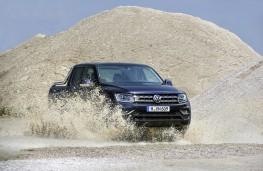 VW Amarok, offroad action