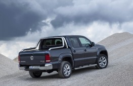 VW Amarok, offroad rear