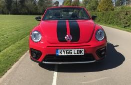 VW Beetle Cabriolet, front