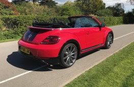 VW Beetle Cabriolet, rear