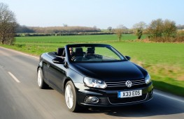 VW Eos front moving