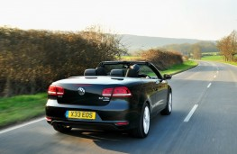 VW Eos rear moving