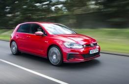 Volkswagen Golf, front action