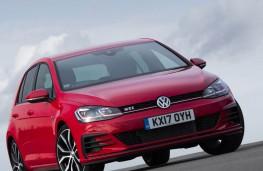 Volkswagen Golf, upright static