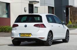 VW Golf GTE, rear static