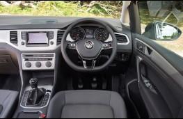 Volkswagen Golf SV, dashboard