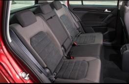 Volkswagen Golf SV, rear seats
