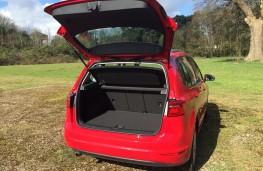 Volkswagen Golf SV, boot