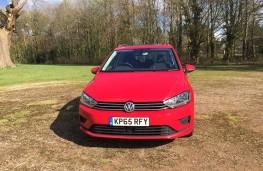 Volkswagen Golf SV, front