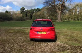 Volkswagen Golf SV, rear