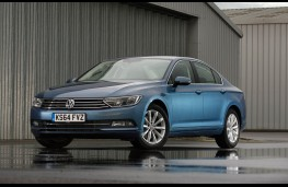VW Passat, front static
