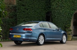 VW Passat, rear static