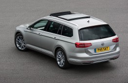 Volkswagen Passat Estate GTE, static rear