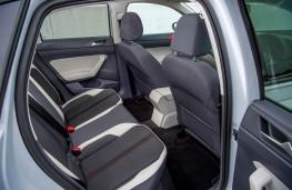 VW Polo, beats rear seats
