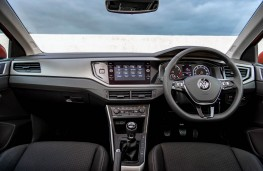 VW Polo, dashboard
