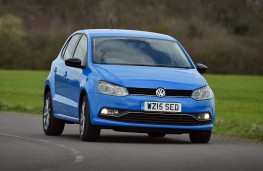 Volkswagen Polo, front action 2