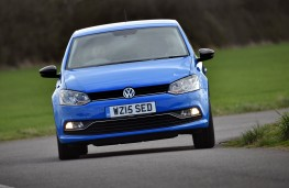 Volkswagen Polo, front action