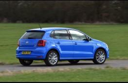 Volkswagen Polo, rear action