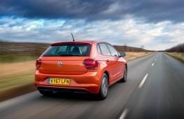 VW Polo, rear action
