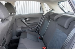 VW Polo, rear seats