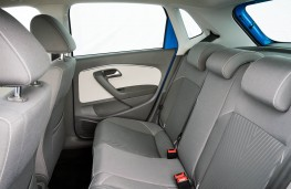 Volkswagen Polo, rear seats