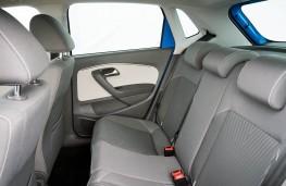 Volkswagen Polo, rear seats