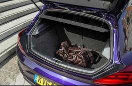 Volkswagen Scirocco, boot