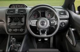 Volkswagen Scirocco, dashboard