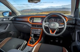 VW T-Cross, dashboard