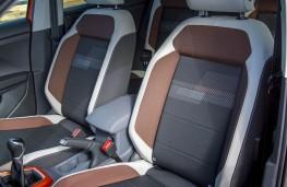 VW T-Cross, front seats