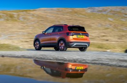 VW T-Cross, rear action 3
