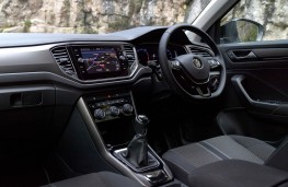 Volkswagen T-Roc, dashboard manual