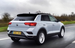 Volkswagen T-Roc, rear action
