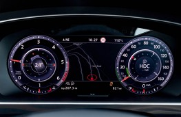 Volkswagen Tiguan, dash display