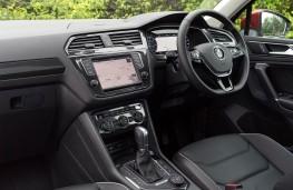Volkswagen Tiguan, dashboard