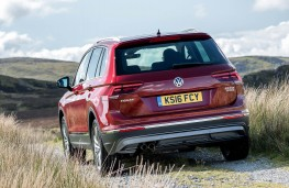 Volkswagen Tiguan, rear off road