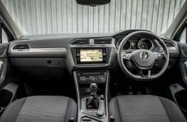 VW Tiguan Allspace, dashboard