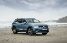 VW Tiguan Allspace, front static