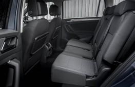 VW Tiguan Allspace, rear seats